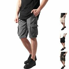Normale unifarbene Herren-Cargo-Shorts