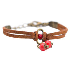 Fashion Women Lucky Bracelets Bead Red String Ceramic Bracelets