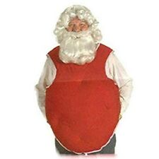 Red Belly Stuffer Santa Suit Costume Accessory Christmas One Size