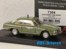 Bang 7304 alfa romeo 2000 Sprint Coupe 'Police 1960 Team Mobile 777-Military