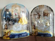Disney Beauty & The Beast~Enchanted Rose Scene & Castle Friends Collection-BOTH!