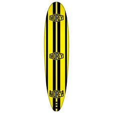 Morey 8' Eps Surfboard   Squash tail shape, Pu leash and three fin set up.