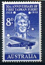 AUSTRALIA 1958 30th ANNIVERSARY OF FIRST TASMAN FLIGHT SG304  MNH