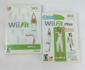 Wii Workout Bundle - Nintendo Wii Fit and Wii Fit Plus