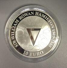 Irland 10 € 2005 in PP 925er Silber, 200. Geburtstag Sir William Rowan Hamilton