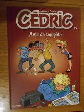 Cédric  : Avis de tempête / Laudec, Cauvin / Dupuis / N° 15