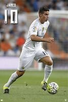 """JAMES RODRIGUEZ REAL MADRID OFFICIALLY LICENSED POSTER 24'X36"""""""