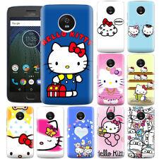 Dibujos Animados Anime Japón Hello Kitty creativo Teléfono Estuche Cubierta Para Motorola ZTE & OPPO