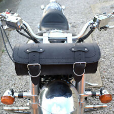 MOTORCYCLE LEATHER LARGE TOOL ROLL SADDLE BAG TRIUMPH ROCKET THUNDERBIRD