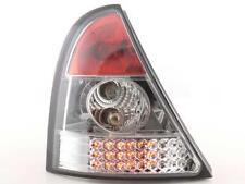 Coppia Fari Fanali Posteriori Tuning LED Renault Clio (B) 98-01, cromato