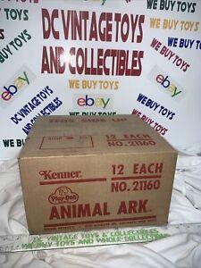 Vintage Kenner PLAY-DOH case fresh unused ANIMAL ARK set MISB 1970s CASE OF 12