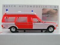 """Busch 52201 Mercedes-Benz VF 123 Miesen (1977) """"Feuerwehr"""" 1:87/H0 NEU/OVP"""