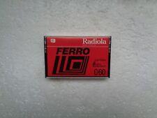 Used Audio Cassette RADIOLA Ferro C60 From 1978 - EX Condition !