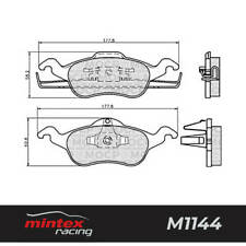 Mintex Racing MDB1958 M1144 High Performance Brake Pads