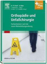 ORTHOPÄDIE und UNFALLCHIRURGIE, Facharztwissen...NEU/OVP + Portofrei