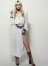 New Free People Endless Summer Belted Maxi Dress Size 6 Lavender $138