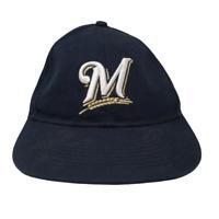 Youth OC Sports Milwaukee Brewers Baseball Cap Hat MLB Blue OSFM Strap Back