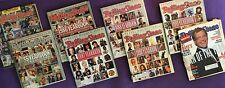 Rolling Stone Vintage Yearbooks - LOT OF 8 - 1982, 1985- 88, 1990-91, 1994