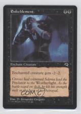 1997 Magic: The Gathering - Tempest Booster Pack Base #NoN Enfeeblement Card 0a0