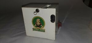 Vintage Pure Nap Coin Op Sanitary Napkin vending machine gas station  with key