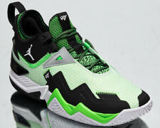 Jordan Westbrook One Take Men's White Black Rage Green Basketball Sneakers Shoes
