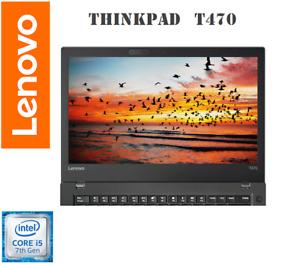 """Ultrabook ThinkPad T470 • 14""""• Intel i5-7300U Vpro•  NVMe SSD• 16GB RAM•  Win10P"""