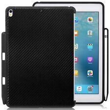 Apple iPad Pro 10.5 Back Case Carbon Fiber W/ Pen Slot Smart keyboard Compatible