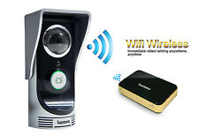 Practical Wireless WiFi Doorbell Remote Music Box for indoor Home Security Black