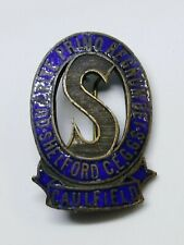 SHELFORD CHURCH OF ENGLAND GIRL'S GRAMMAR SCHOOL CAULFIELD PIN / BADGE