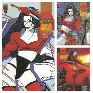 °SHI: SENRYAKU BOOK ONE bis THREE° Crusade Comics 1995 William Tucci