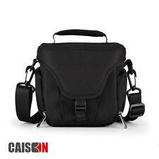Black Digital Shoulder Camera Bag Case For Panasonic Lumix DMC FZ72 FZ200 GX80