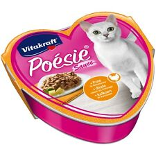 15 Bowls - Vitakraft Cat Food Poesie Sauce, Turkey in Käsesauce - Food
