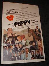 THE POPPY IS ALSO A FLOWER folded movie 1 sheet promo poster Heroine Drug cultur