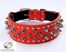 Leather Adjustable Unisex Dog Collars