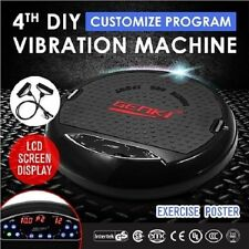 Genki 4th DIY Ultra Slim Vibration Machine Platform Black RRP $549