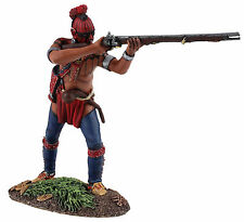 BRITAINS SOLDIERS/CLASH OF EMPIRES-EASTERN WOODLAND INDIAN STANDING FIRIN -16034