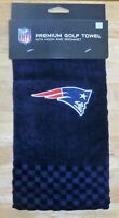 NFL Embroidered Tri-fold Towel - New England Patriots Golf