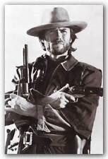 ACTOR POSTER Clint Eastwood Western Guns