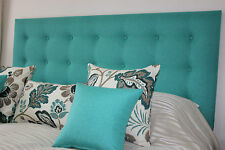 NEW BED HEAD KING SIZE UPHOLSTERED BEDHEAD / HEADBOARD MADE TO ORDER