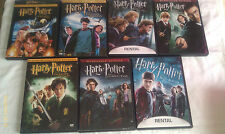 HARRY POTTER-DVD COLLECTION-7 TITLES: HARRY POTTER AND THE SORCERER'S STONE, HAR