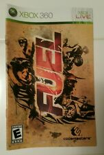 Xbox 360 Fuel Instruction Booklet Insert Only Microsoft