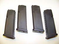 """FOUR  GLOCK 19  9 MM 10 ROUND MAG MAGAZINE GEN 4  9mm MF10019 glock clip """"BULK"""""""