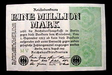 1923 Germany Banknote 1000000 Million Mark UNC high quality consecutive