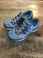 Saucony Guide Iso Running Shoe s10415-5 Women Size 8.5 Form Fit Blue Peach
