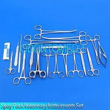 23 Spay Neuter Pack Veterinary Instrument Forceps