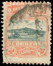 Scott # 227 - 1919 - ' Harbor of Montevideo '