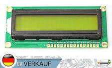 1602 16x2 Zeichen LCD Display Modul HD44780 gelbes BL für Arduino Raspberry Pi
