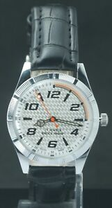 """Refurbished White Dial FHF ST-96 """"Hand Winding"""" Men's Excellent Watch Swiss Mvmt"""