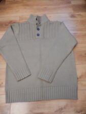 'George' Stone/Brown Jumper - Size Large