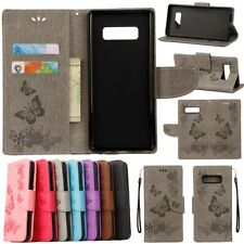 Luxury Leather Magnetic Wallet Card Stand Case Cover For Samsung Galaxy Phones